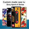 For Sony Xperia XA X Performance XZ case, 3D cartoon custom-made painted back cover case for Sony Xperia XA XZ Customized case