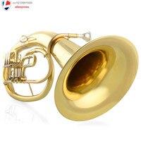 Mall натуральная музыкальный инструмент звуки JINBAO лицензирования jbbr 1211 плоский ключ Bb Баритоны пожизненная Гарантия