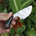 Бесплатная доставка самый острый 918OV стальной тактический нож маленький нож для выживания изысканный подвесной нож для улицы DEC инструмент...