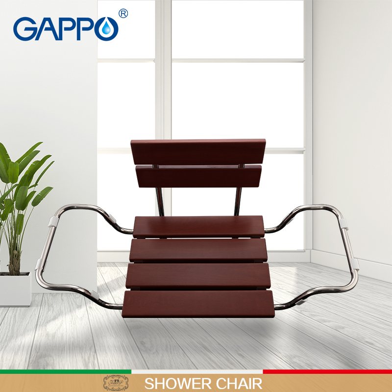 Gappo Wall Mounted Shower Seats bathroom Stool chair bathroom shower chair Childern bath shower Seat bench