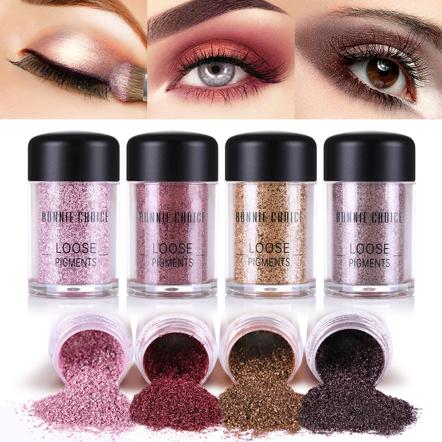 Bonnie Choice 1 Box Dazzling Eyeshadow Powder Eye Primer Foundation
