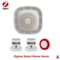 2017 New 868Mhz Wireless Zigbee Alarm System Smart Home Security Alarm System With App Control