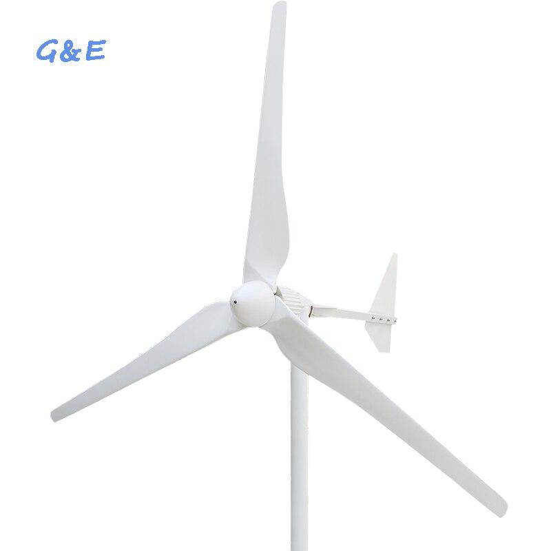 AC Sortie 2KW 48 V 96 V 120 V 220 V 230 V Vent Turbine Vent Générateur moulin à vent D'énergie