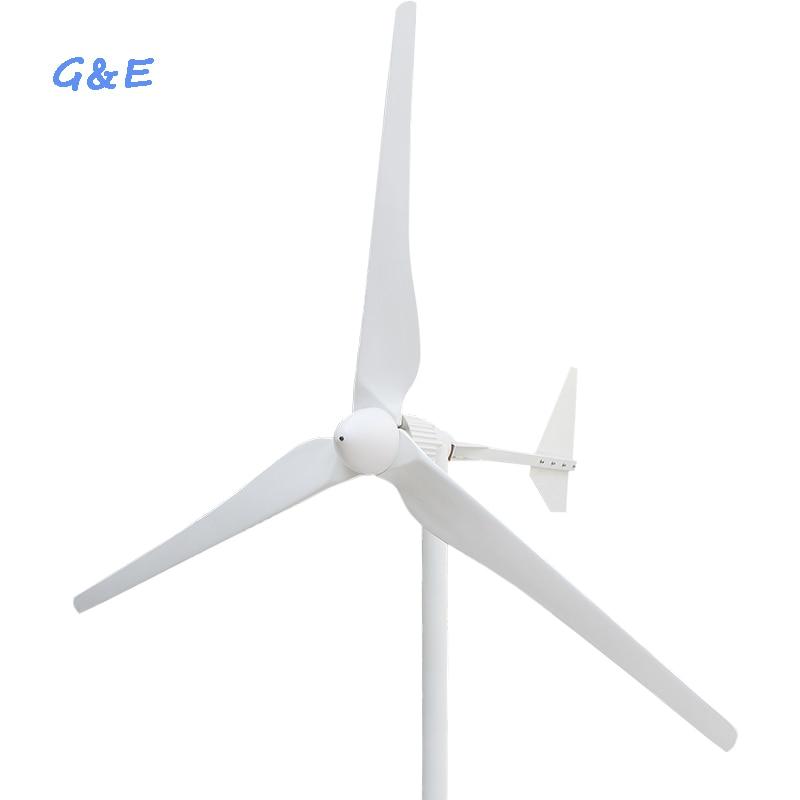 Uscita AC 2KW 48 V 96 V 120 V 220 V 230 V Vento Generatore di Turbina Eolica Mulino a Vento di Energia