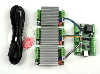 GRBL LASER CNC control board, DIY laser engraving machine+ + 3pcs TB6600 1 Axis 4.5A Stepper Motor Driver board