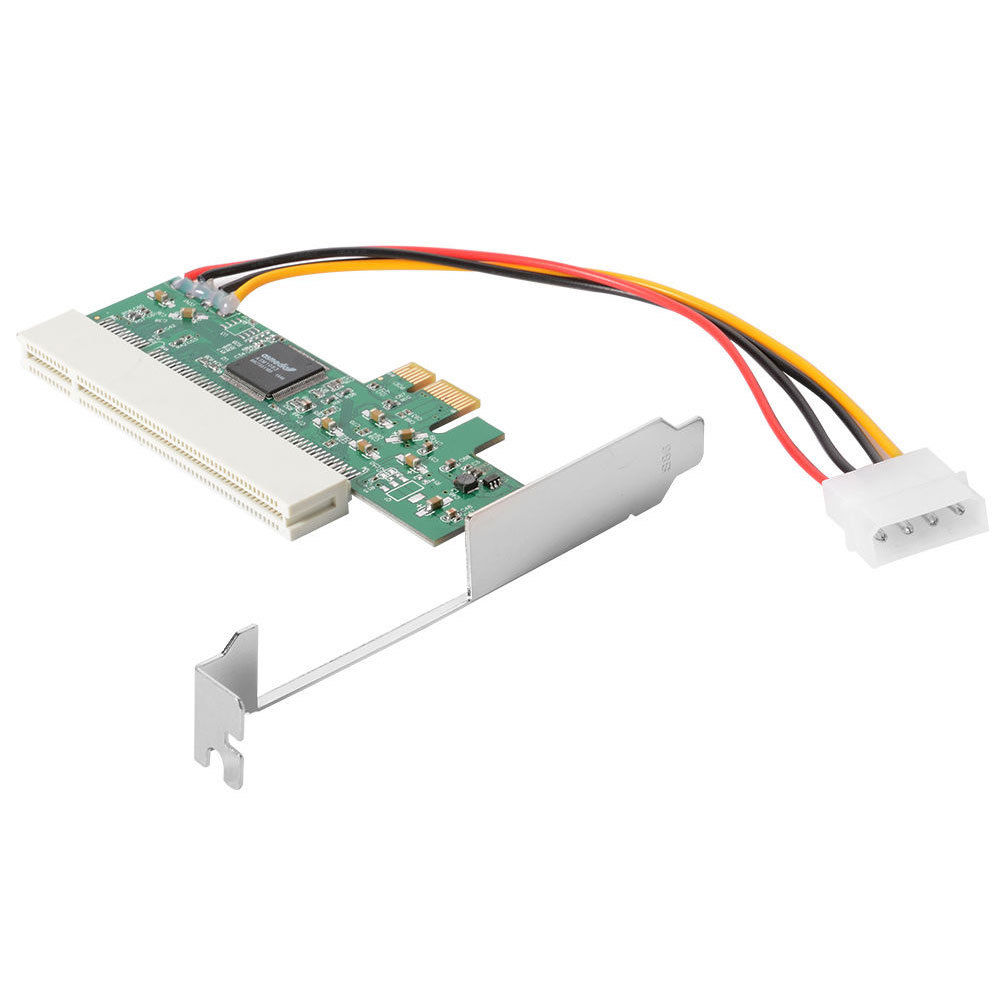 HOT-<font><b>PCI</b></font>-<font><b>Express</b></font> To <font><b>PCI</b></font> Adapter Card <font><b>PCI</b></font>-E <font><b>X1</b></font>/X4/X8/X16 Slot With 4 Pin Power Cable Card image