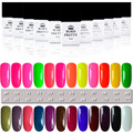 12 Colores/Set NACIDO PRETTY 10 ml Nail Art Polaco del Gel Empapa del Gel ULTRAVIOLETA de la Manicura #49-60 #/#61-72
