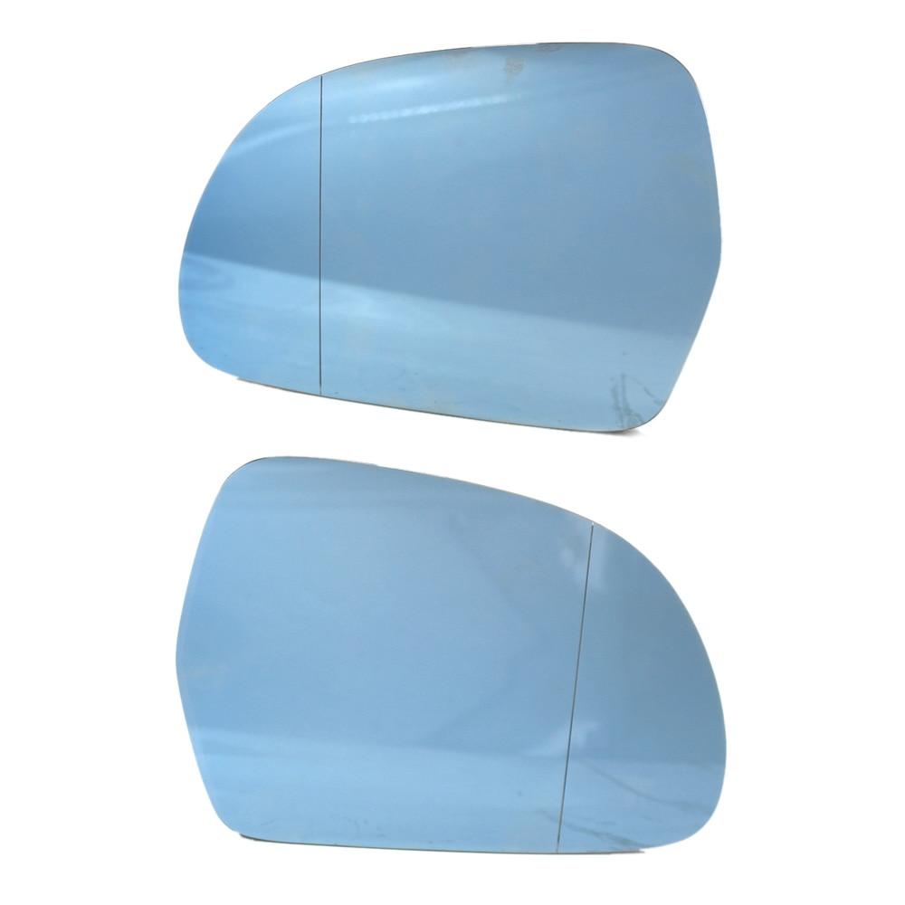 Left Passenger Side Heated Wing Door Mirror Glass for SEAT ALTEA 2004-2008