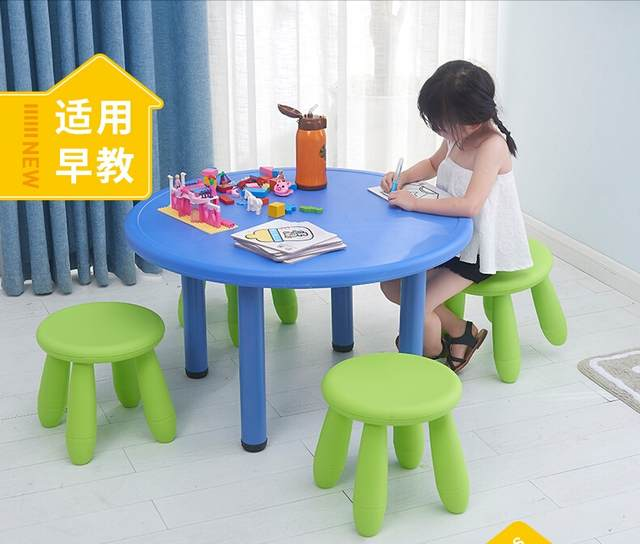 Kids Round Table With Chairs Tyres2c