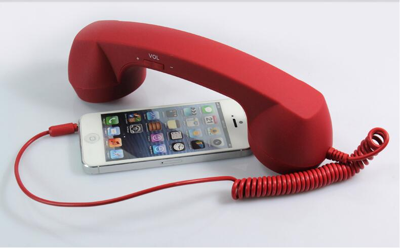 Red Phone Handset Anti Radiation For Iphone Ipad Retro Telephone Headphones Phone Pouch Phone Koreahandset For Mobile Phone Aliexpress