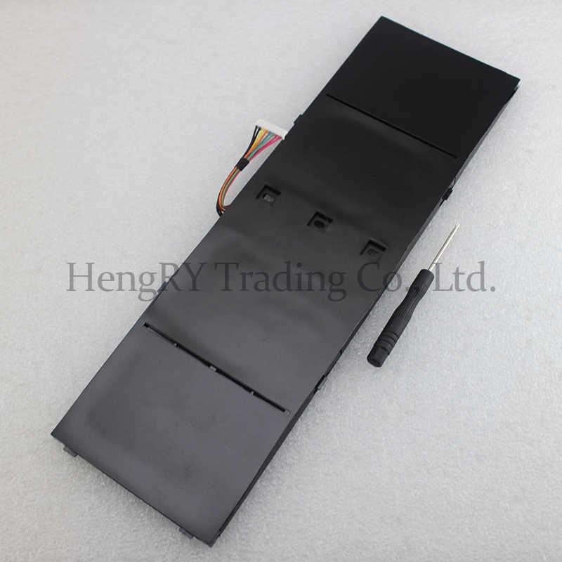 HSW แบตเตอรี่แล็ปท็อป AP13B3K สำหรับ Acer Aspire V5 R7 V5-572G V5-573G V5-472G V5-473G V5-552G M5-583P V5-572P R7-571 AP13B8K