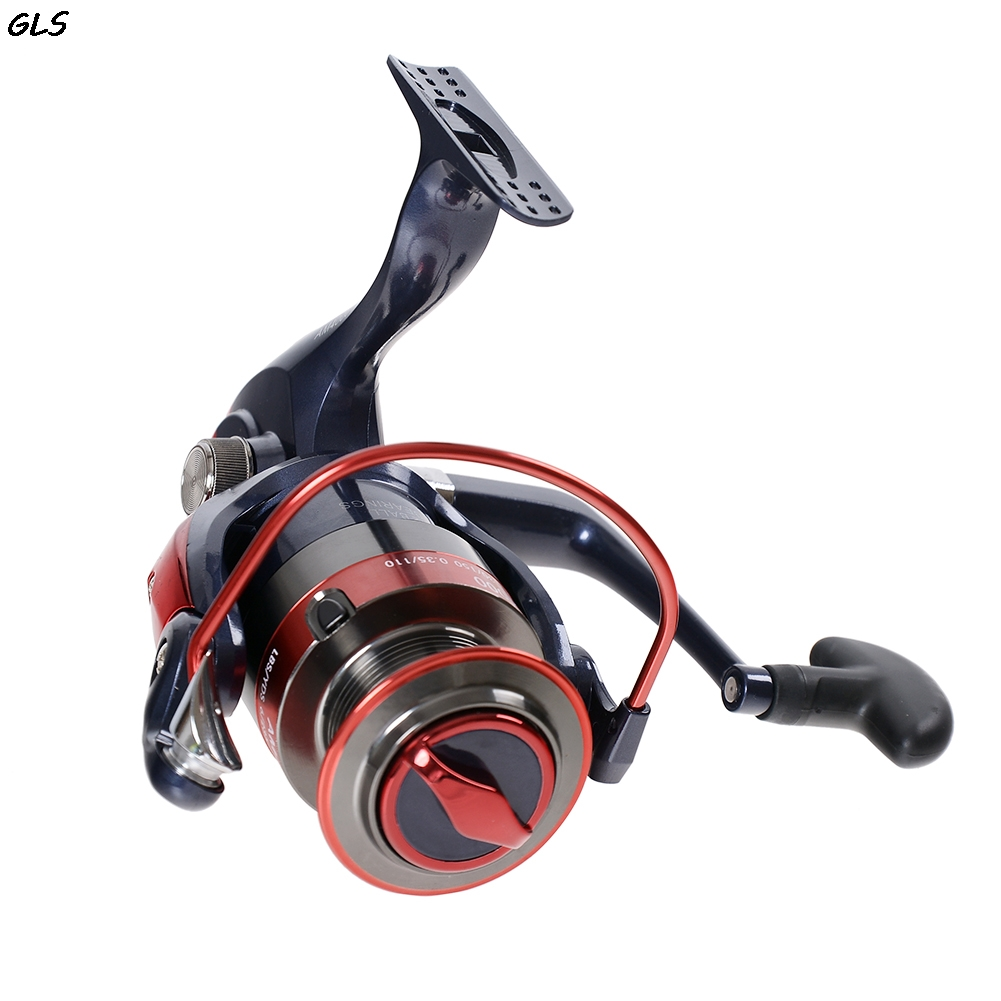 2000-7000 Serie 12BBs Bobina di Filatura di Pesca Max Trascina 20 KG Carp Fishing Spinning Reels Reel Sinistra/Destra maniglia ruota Pesca