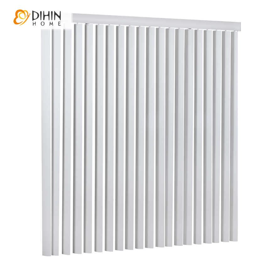 DIHIN HOME Modern Curtains High Quality Thickening Roller Shutter Vertical Blinds Hanas Shading Customized Curtain Free Shipping