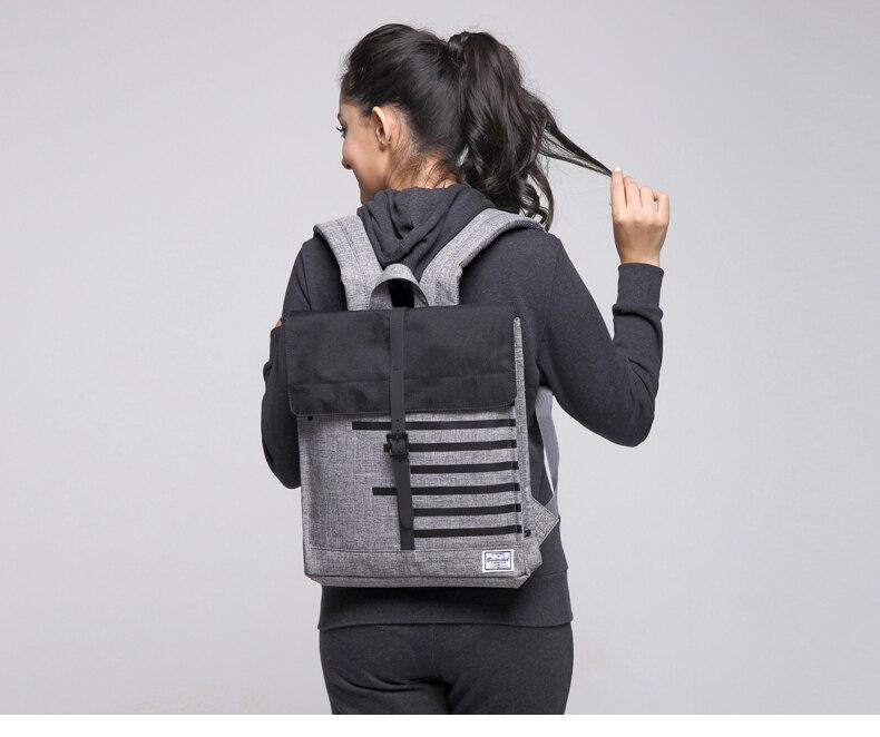 Bodachel oxford homens e mulheres mochila daypack