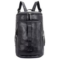 J.M.D пояса из натуральной кожи Твердые Сумка Multi функции сумка для ноутбука для мужчин большой ёмкость путешествия рюкзак 2006A