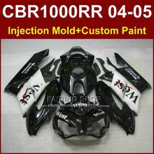 West mobil 1 cbr1000 rr 04 05 for HONDA body parts CBR1000 RR 04 05 CBR1000RR 2004 2005 Injection mold Motorcycle black fairings