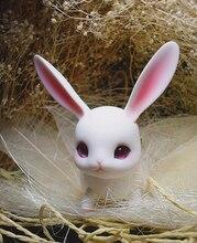 Рисовый торт, кролик bjd 1/12, кролик, рубин, маленькая Детская кукла, пальмовые куклы, бесплатная доставка