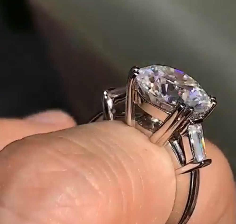 choucong Solitaire Promise Ring 925 Sterling Silver Crystal Zircon cz Engagement Wedding Band Rings For Women Party Jewelry Gift