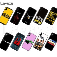 Lavaza Polisi Silikon Lembut Case untuk iPhone 11 Pro XS Max XR X 8 7 6 6S PLUS 5 5S SE(China)