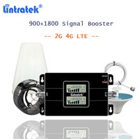 lintratek 4G LTE DCS Signal Booster GSM 900 1800 Cellular Repeater Mobile internet 4g amplifier telephone booster repeater 900MH