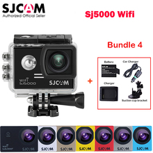 Original SJCAM SJ5000 WiFi Novatek96655 Outdoor Sports Action Camera Mini DVR+ Extra Battery+ Charger+ Car Charger +Suction Cup