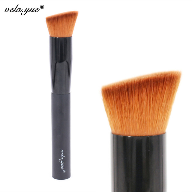 Multipurpose Angled Makeup Brush Perfect Foundation Brush Premium Face Makeup Tool