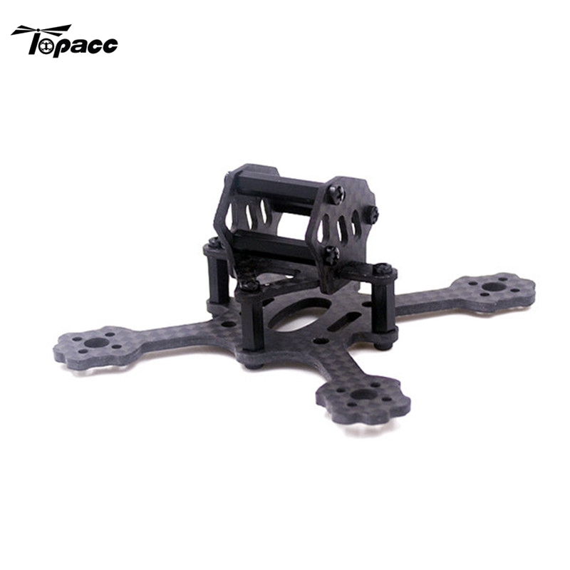 High Quality Carbon Fiber Mini Racing Frame Kit For RC Drones With Camera Quadcopter DIY Spare Parts Helicopter Accessories Accs 2pcs eachine falcon 250 carbon fiber arm motor mount spare parts for mini drone quadcopter rc helicopter multicopter part