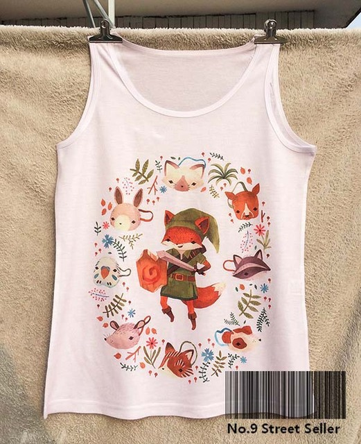 track shipsummer fresh cool top tee camis tanks vest brave fox knight rescue all buy fresh cool summer