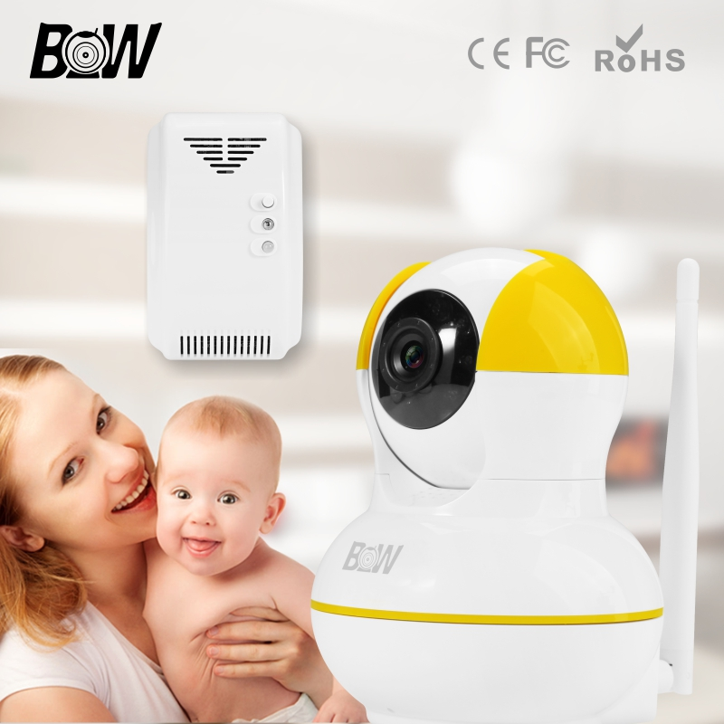 ФОТО Motion Sensor Wireless Camera IP Wifi Email Alert Video Surveillance Camera Wi-Fi +Gas Detector Home Alarm System BW12Y