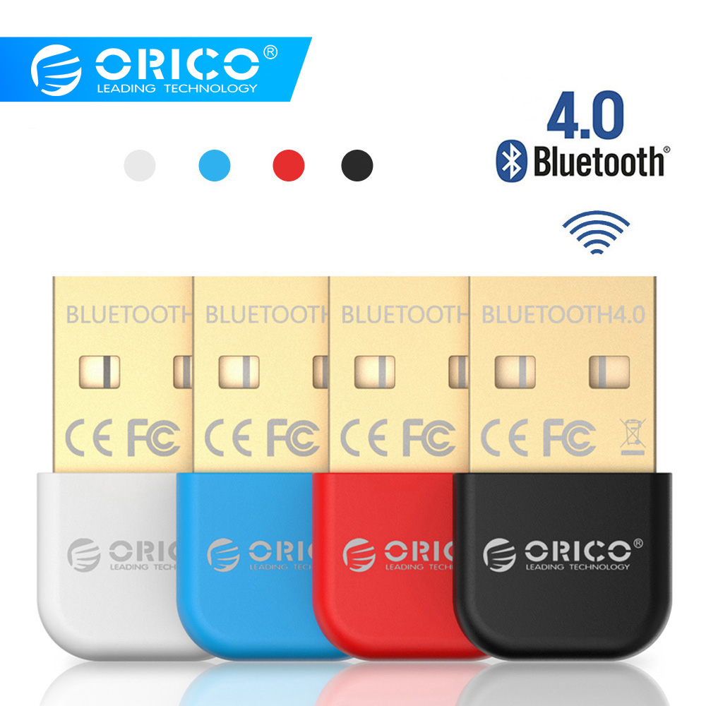 ORICO BTA Wireless USB Bluetooth Adapter 4.0 Bluetooth Dongle Music Sound Receiver Adapter Bluetooth Transmitter for Computer-in USB Bluetooth Adapters/Dongles from Computer & Office