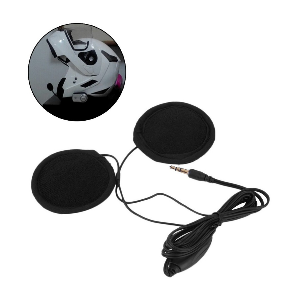 3.5mm Motorbike Motorcycle Helmet Stereo Speakers Headphones Volume Control Earphone for MP3 GPS Phone Music