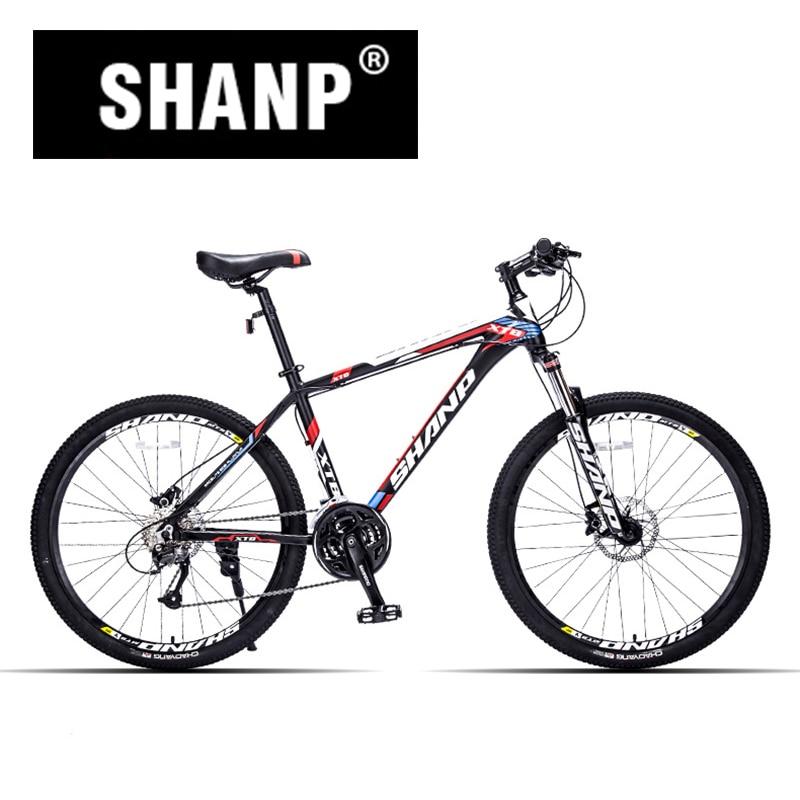 SHANP Mountain Bike Aluminum Frame 27 Speed Microshift Hydraulic/Mechanical Brake 26 Wheel best price 1002 100 38 41 hand hydraulic carrier polyurethane wheel with aluminum center