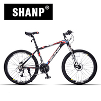 SHANP MOUNTAIN BICYCLE ALUMINUM METAL VARIABLE 27 Speed 26 Inch Hydraulic Men And Women Cycling