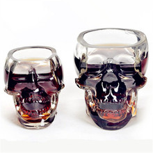 Doomed Skull Glass Wine mug Beer Glasses Wine  Whisky Novelty Cup Cheap Horror Toy for Christmas Home Drinking Ware Hot search