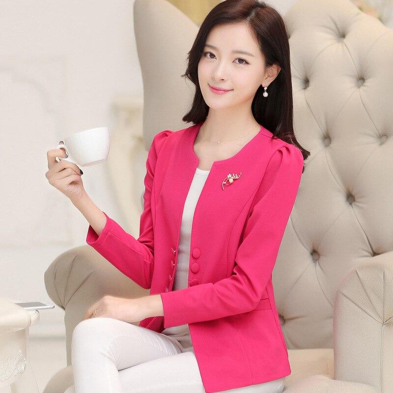Womens jacket women blazers Size l-5XL Bust84cm-104cm Womens Jackets8040 Formal Jackets