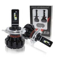 Muxall 12/24V LED Car Headlight Bulbs H4 H7 H11 H1 9005 9006 HB3 HB4 Hi Lo Beam 60W 7600lm 6000K Auto Headlamp Fog Light