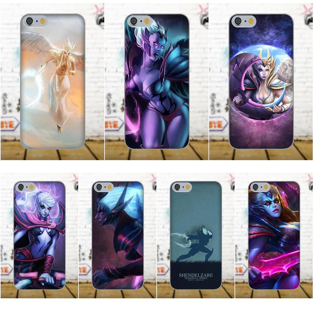 Dota 2 Vs Vengeful Spirit Soft TPU Print Cover Case For Samsung Galaxy A3 A5 A7 J1 J3 J5 J7 2016 2017 S5 S6 S7 S8 S9 edge Plus