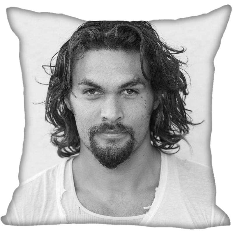 Hot Sale Custom Jason Momoa Pillowcase 40x40cm 45x45cm 60x60cm(Two Sides) Dakimakura Home Hot Pillow Cases