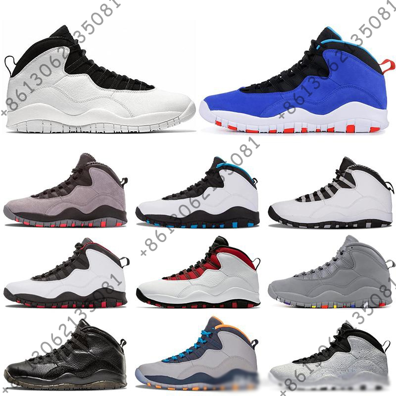 TINKER 10 10s mens basketball shoes Cement Class of 2006 Westbrook Cool Grey Im back men designer sports sneakers size 8-13TINKER 10 10s mens basketball shoes Cement Class of 2006 Westbrook Cool Grey Im back men designer sports sneakers size 8-13