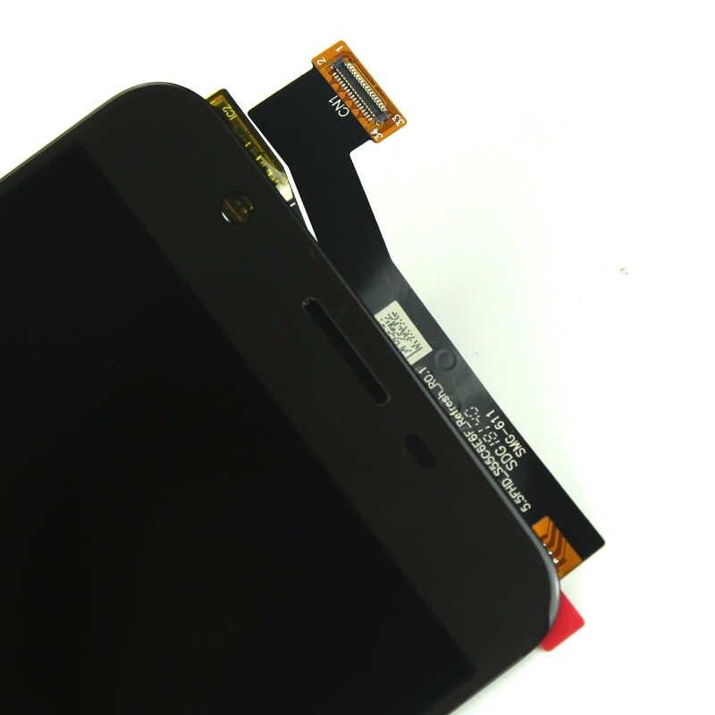 لسامسونج J7 رئيس شاشة الكريستال السائل الصف OEM AMOLED مع محول الأرقام شاشة تعمل باللمس الجمعية لسامسونج G611 G611F شاشة LCD
