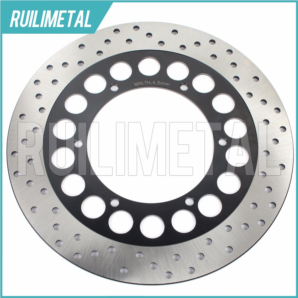 Front  Brake Disc Rotor for YAMAHA XV 1700 Road Star Midnight S Silverado Midnight Warrior 2002 2003 2004 2005 2006 2007 motorcycle part front rear brake disc rotor for yamaha yzf r6 2003 2004 2005 yzfr6 03 04 05 black color