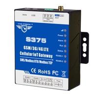 Dual sim kaart IoT Gateway GSM Modbus RTU Master & Slave voor UPS PLC VFD monitoring ondersteunt 320 I/ O tags S375-in Alarmsysteem van Veiligheid en bescherming op