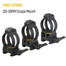 Canis Latrans tactical Quick dismantling rifle scopes mounts QD 30mm scope mount for 21.2mm rails mount цена 2017