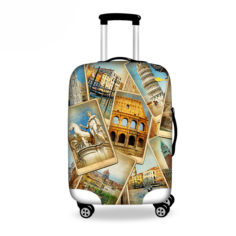 Travel On Road Luggage Cover Protective Suitcase Covers For 18/20/22/24/26/28 Inch Trolley Suitcase Anti-dust Cover