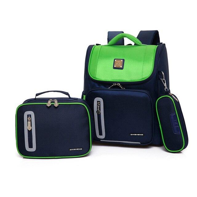 01ba770a3dcc Children School Bags Girls Boys Backpack Kids Orthopedic Backpack Schoolbag  Primary School Backpack Set Kids Satchel