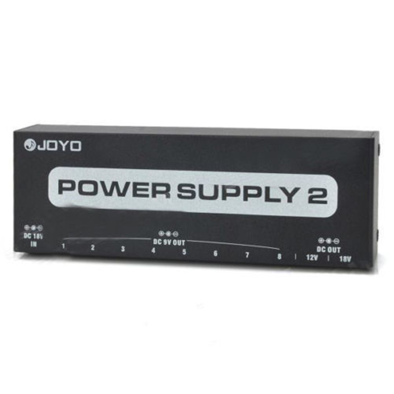 ФОТО JOYO JP-02 POWER SUPPLY 2 DC9V/12V/18V Pedals for Guitar Pedal Boss+Host+DC 18V Power Adapter+10 Cable+2 Polarity Reversal Cable