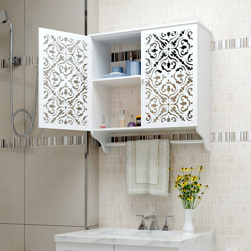 Superior ... Bathroom Wall Cabinet Bathroom Cabinets Bathroom Storage Racks  Waterproof Bathroom Wall Shelf Storage Rack Closet ...