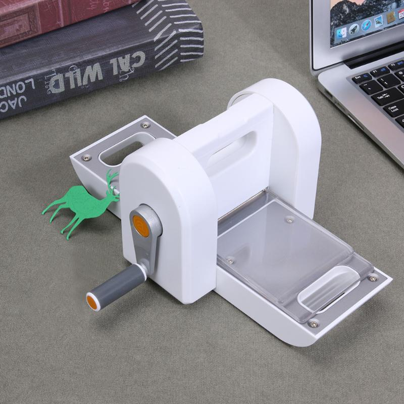 Scrapbooking craft die cutting machine embossing paper for Craft die cutting machine
