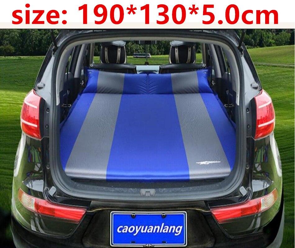 Camping voiture lit SUV gonflable voiture matelas pour Auto matelas flocage Portable gonflable coussin voiture voyage lit