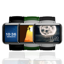 แฟชั่นRwatch DM98สมาร์ทบลูทูธS Mart W Atchนาฬิกาที่มีจอแสดงผลLEDเครื่องเล่นเพลงDM98สุขภาพข้อมือสร้อยข้อมือHeart Rate Monitor